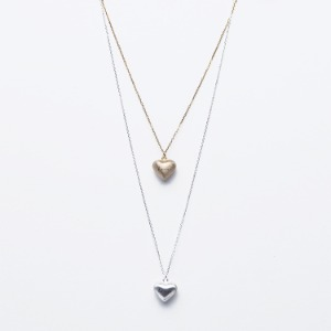 Volume Love Heart Necklace