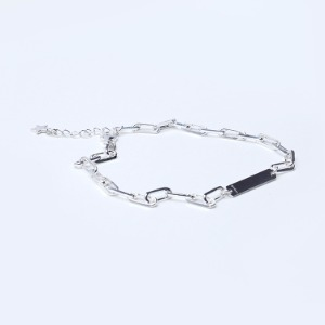 Square Link Clip Chain Anklet